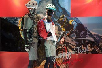 Schaufenster Mountainbiken bei Och Sport in Zürich
