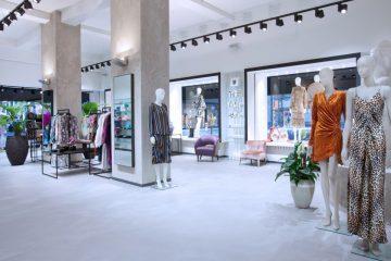 Blick in den Verkaufsraum von Jades in Düsseldorf.