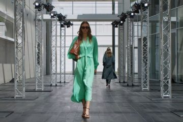 Screenshot des Videos Marc Cain Fashion Show 2020