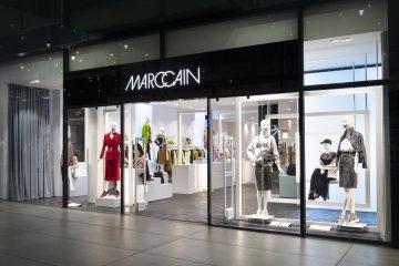 Store Front des neuen Marc Cain Geschäfts in München