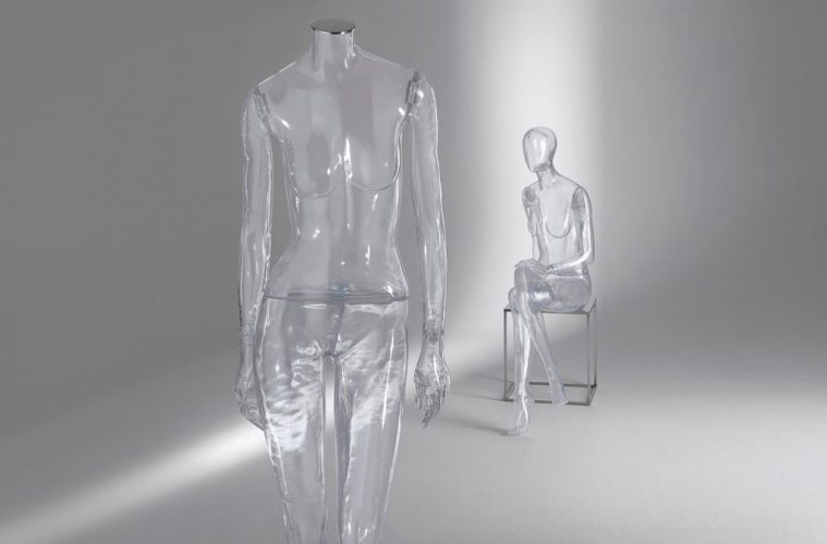 Crystal Clear Mannequins von The Mannequin House