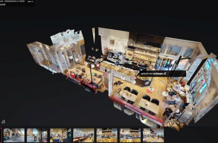 digitale Shopansicht